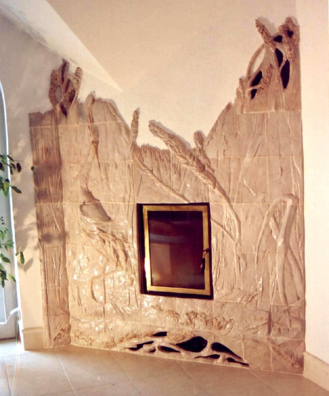 kominek ceramiczny z14