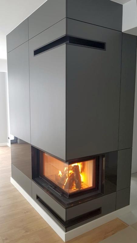 kominek nowoczesny nowoczesna obudowa kominkowa n138