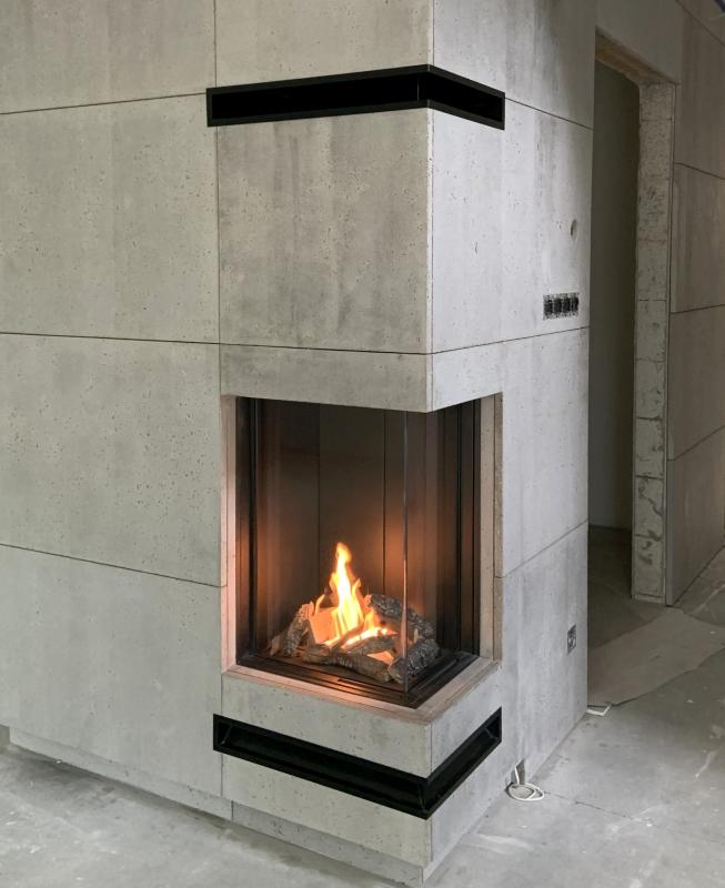 kominek nowoczesny nowoczesna obudowa kominkowa n156