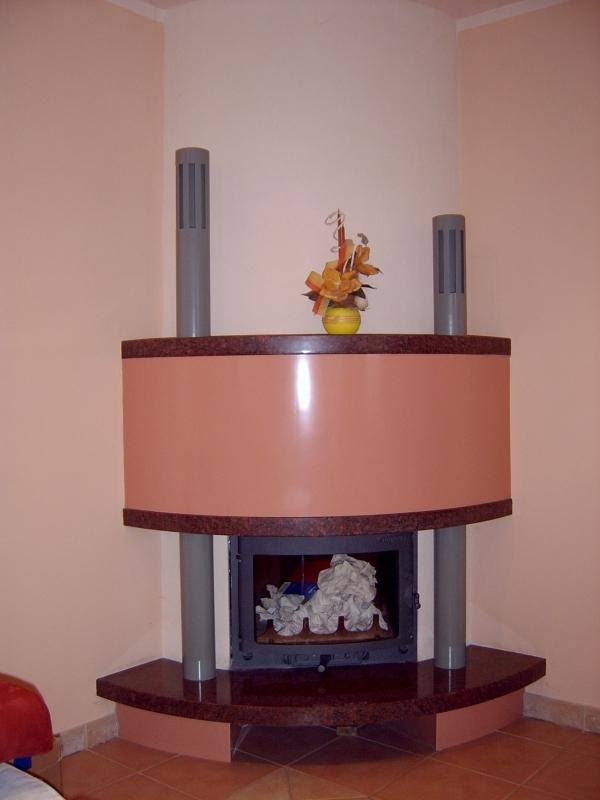 kominek nowoczesny nowoczesna obudowa kominkowa n16