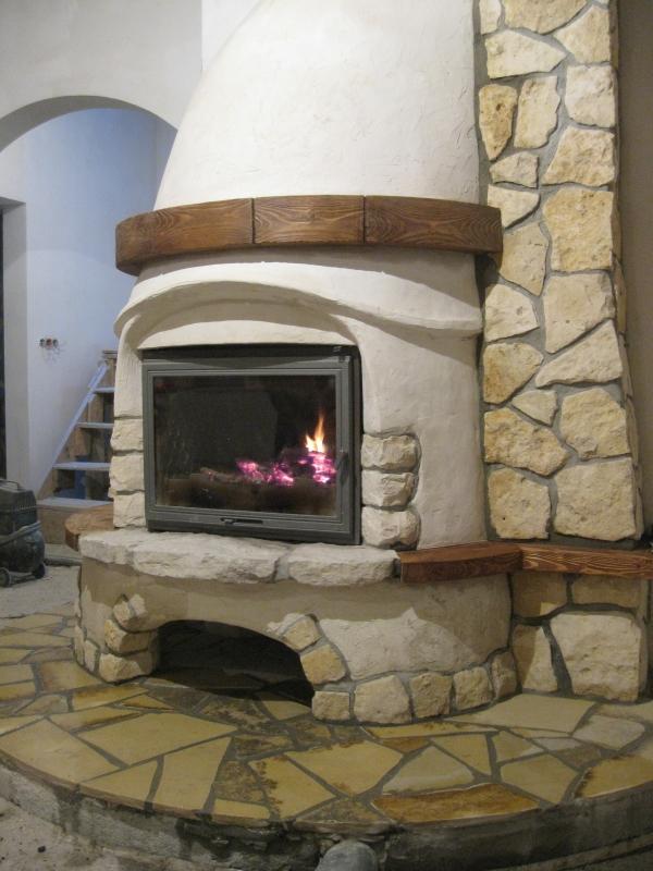 kominek tradycyjny t02  klasyczny kominek rustykalny obudowa kominkowa