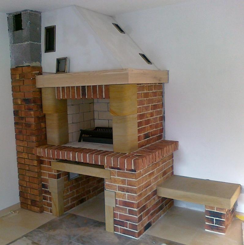 kominek tradycyjny t16  klasyczny kominek rustykalny obudowa kominkowa