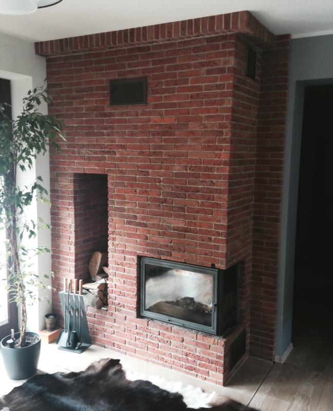 kominek tradycyjny t42 klasyczny kominek rustykalny obudowa kominkowa