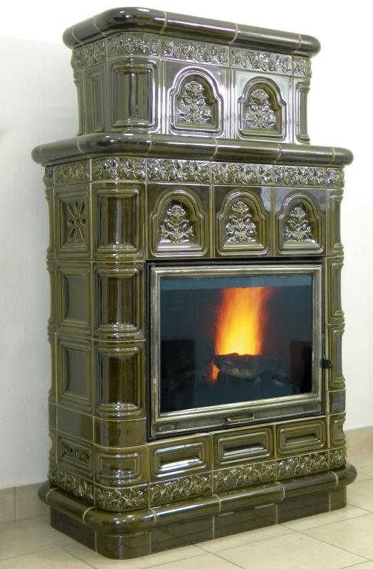 kominek tradycyjny t69 klasyczny piec kominek kaflowy