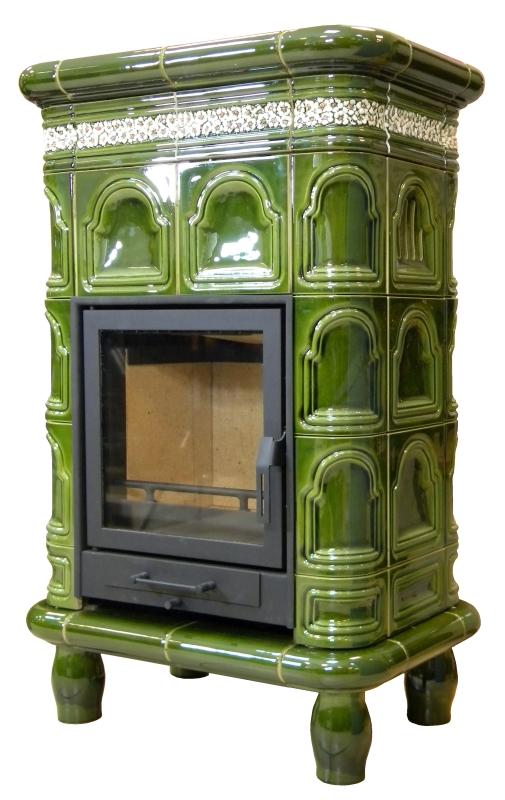 kominek tradycyjny t74 klasyczny piec kominek kaflowy
