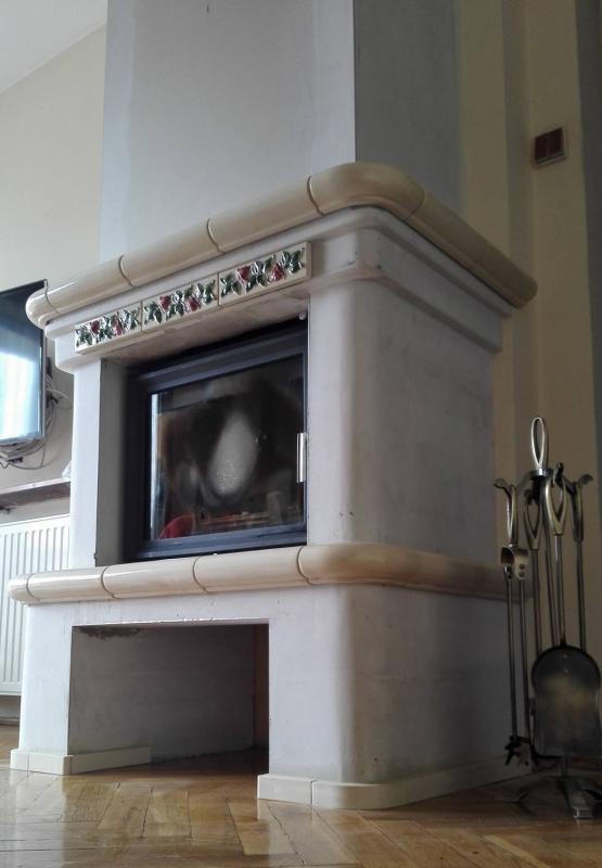 kominek tradycyjny t78 klasyczny kominek rustykalny obudowa kominkowa