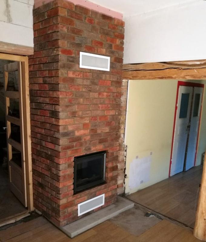 kominek tradycyjny t81 klasyczny kominek rustykalny obudowa kominkowa